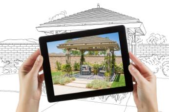 framed photo of a home renovation project by Newcastle Carports